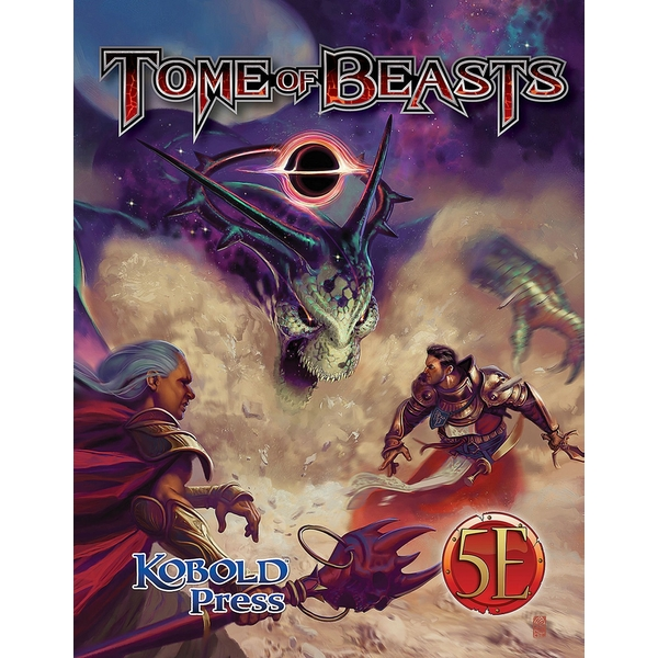 Tome of Beasts 5E Hardcover Board Game