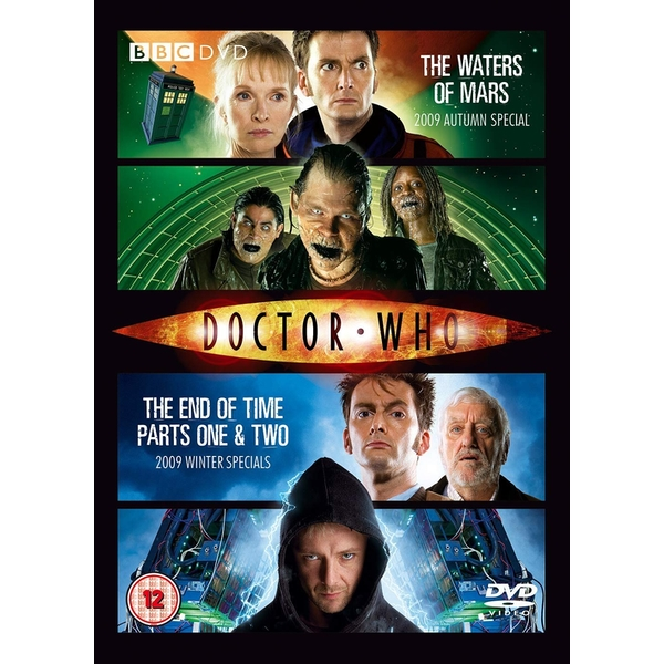 Doctor Who The Winter Specials 2009 DVD