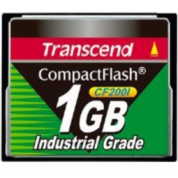 Transcend CF200I 1GB Industrial Temp CompactFlash Card