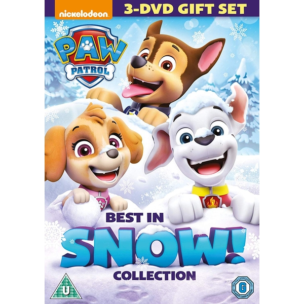 Paw Patrol: Best In Snow Christmas Collection DVD