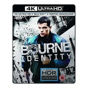 The Bourne Identity 4K UHD Blu-ray