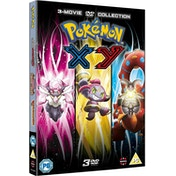 Pokemon Movie 17-19 Collection: XY DVD