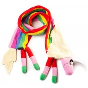 Adventure Time Lady Rainicorn Mulitcoloured Scarf