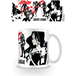 Justice League Movie - Black Red Stencil Mug - Image 2