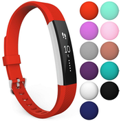 Yousave Activity Tracker Single Strap - Red (Large)