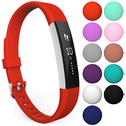 Yousave Fitbit Alta / Alta HR Strap Single Large - Red