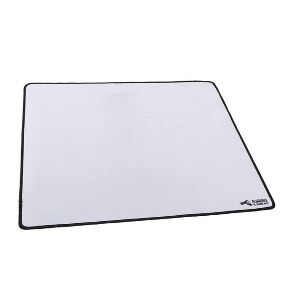 Glorious PC Gaming Race Mouse Pad - XL Heavy White 457x406x5mm