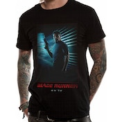 Blade Runner 2049 - Deckard Full Red Men's X-Large T-Shirt - Black