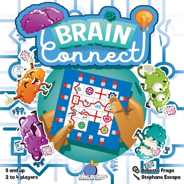 Brain Connect Board Game