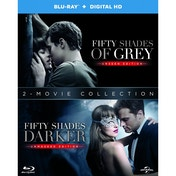 Fifty Shades Darker + Fifty Shades of Grey Blu-ray