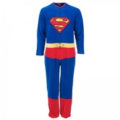 Superman Onesie Blue All In One Large