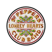 The Beatles - Sgt Pepper's Drum Standard Patch