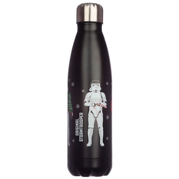 The Original Stormtrooper Christmas Stainless Steel Hot & Cold Thermal Insulated Drinks Bottle