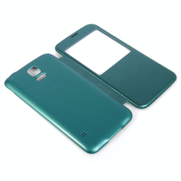 YouSave Accessories Samsung Galaxy S5 Battery Cover Case - Blue - Image 2