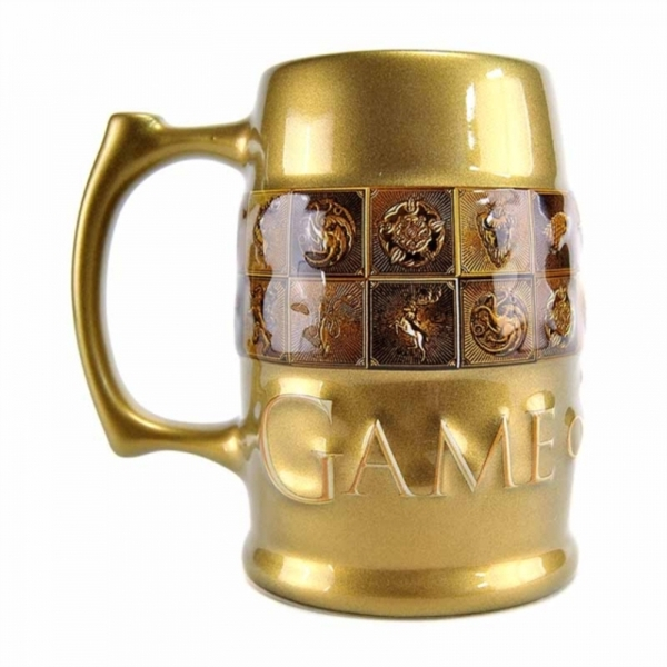 Game Of Thrones - Galaxic Glaze Sigils Large Tankard Mug