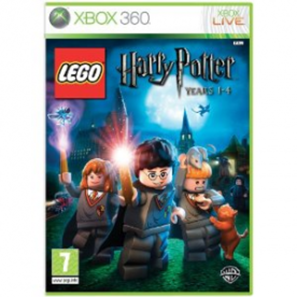 Lego Harry Potter Years 1-4 Game Xbox 360
