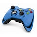 Official Microsoft Blue Chrome Wireless Controller Xbox 360 - Image 2