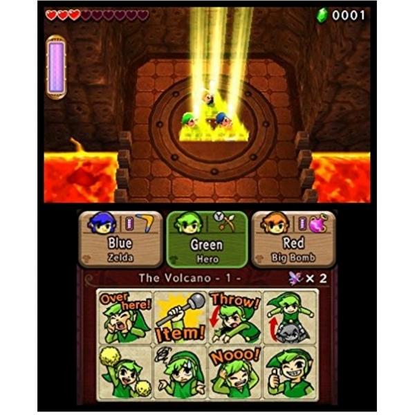 The Legend Of Zelda Triforce Heroes 3DS Game - Image 4