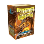Dragon Shield Standard 100 Orange Sleeves (10 Packs)