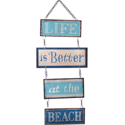 Life Is Better At The Beach Hanging Sign