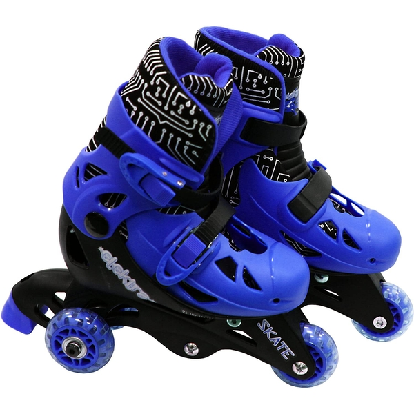 Small Elektra Roller Skates (Blue) [Damaged Packaging]