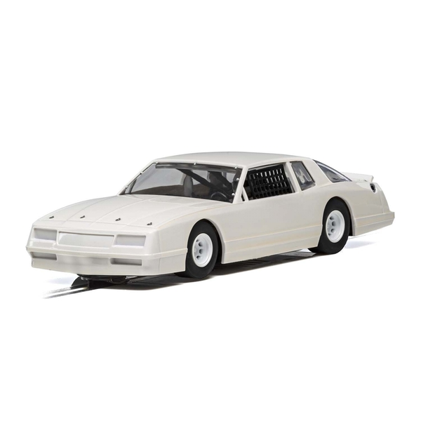 Chevrolet Monte Carlo 1986 White 1:32 Scalextric Super Resistant Car