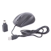 Evo Labs E14 Black PS2/USB Combo Full Size Optical Mouse