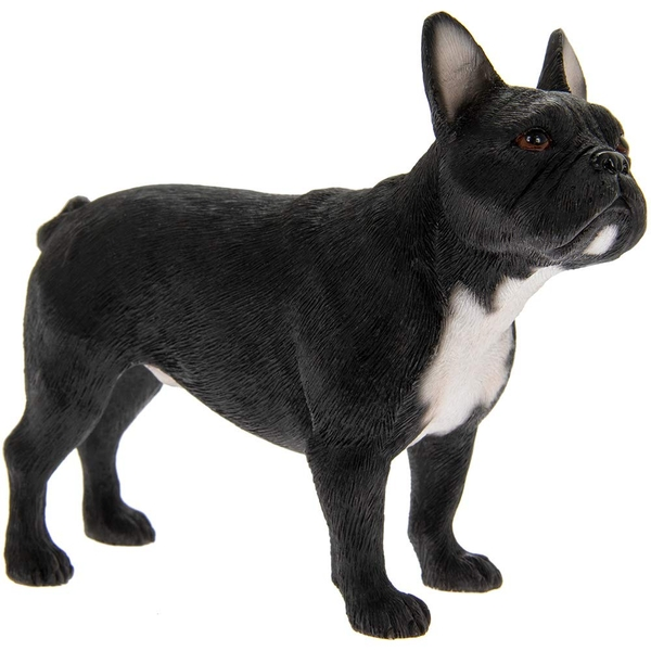 French Bulldog Black Figurine By Lesser & Pavey