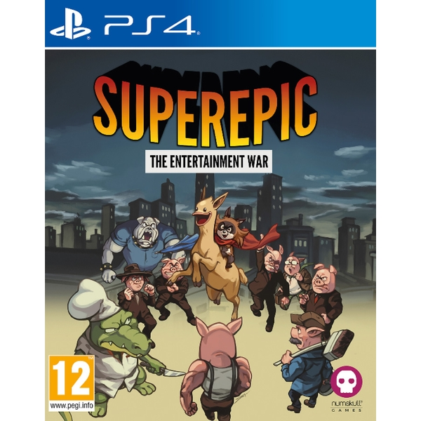 SuperEpic The Entertainment War PS4 Game