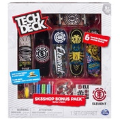 Tech Deck Skate Shop Bonus Pack (1 Random Design)