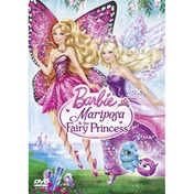 Barbie: Mariposa And The Fairy Princess DVD
