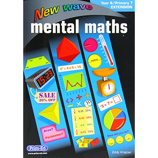 NEW WAVE MENTAL MATHS YEAR 6 PRIMARY 7   2016