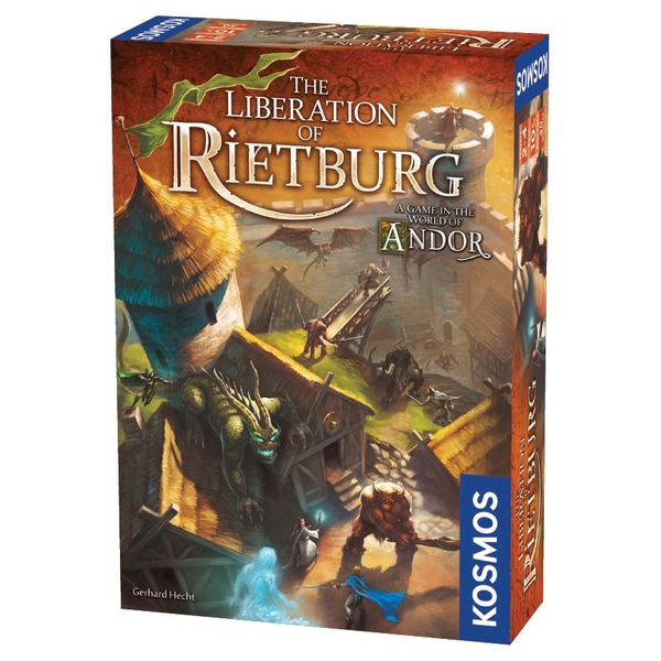Andor: The Liberation of Rietburg Board Game