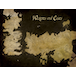 Game of Thrones - Westeros and Essos Antique Map Canvas - Image 2