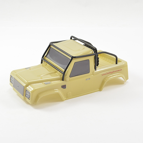 Ftx Mini Outback 2.0 Ranger Body & Roll Cage - Sand