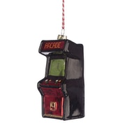 Game Over Arcade Game Glass Christmas Bauble Decoration