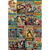 Marvel (Iron Man Covers) Maxi Poster