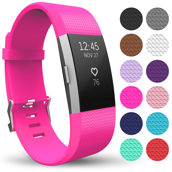 Yousave Activity Tracker Strap Single - Hot Pink (Small)