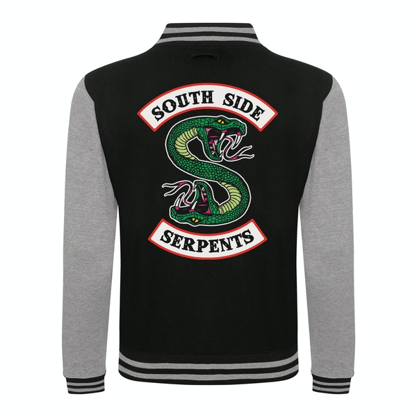 Riverdale - South Side Serpants Unisex XX-Large Varsity Jacket - Black