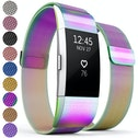 Proworks FitBit Charge 2 Milanese Metal Strap - Multi
