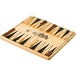 Backgammon Wooden Classic Board Game - Image 2