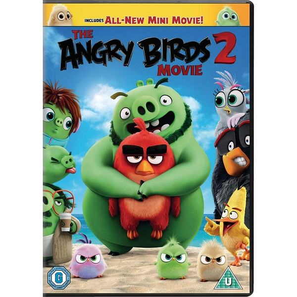 The Angry Birds Movie 2 DVD