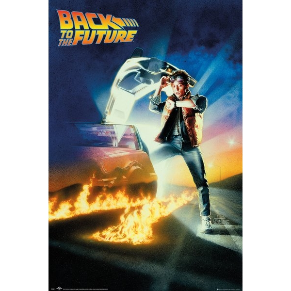 Back To The Future Key Art Maxi Poster