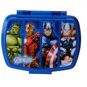 Avengers Childrens Sandwich Box With Tray