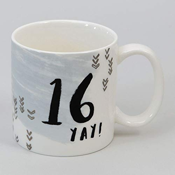 Luxe Ceramic Male Birthday Mug - 16