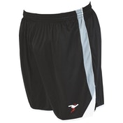 Precision Roma Shorts Junior Black/Silver/White - M/L Junior 26-28""