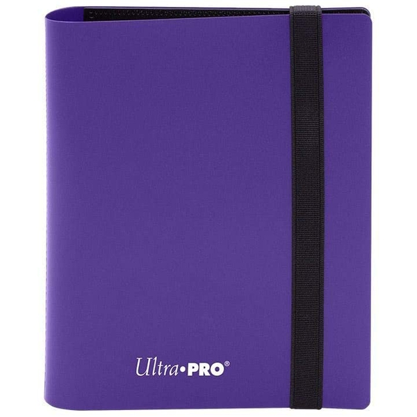 Ultra Pro Eclipse 2-Pocket Pro-Binder - Royal Purple