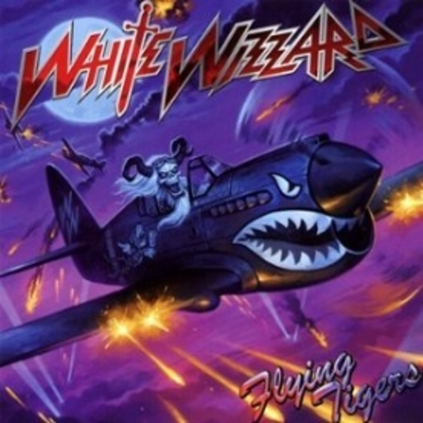White Wizzard Flying Tigers CD