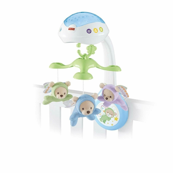 Fisher Price - 3 In 1 Nature Berries Projection Mobile