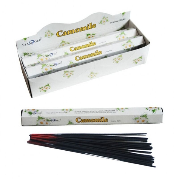 Camomile (Pack Of 6) Stamford Hex Incense Sticks